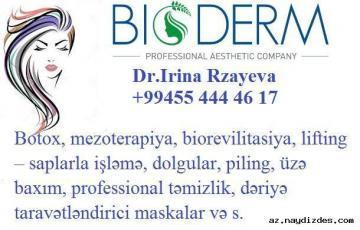 Kosmetoloq xidmeti  055 444 46 17